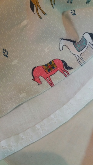 horse lining detail