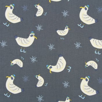 chilly seagull fabric